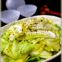 Cabbage with Salt Sauce