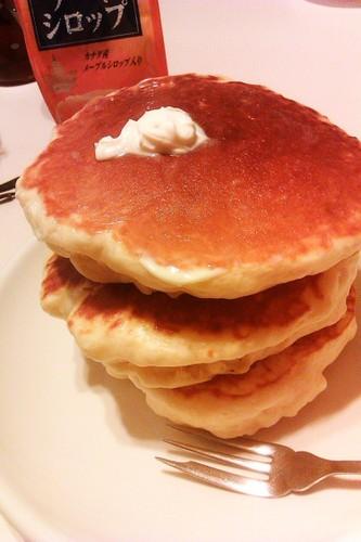 Bread Flour Pancakes