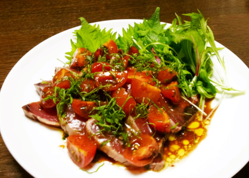 Easy Italian: Bonito and Tomato Carpaccio
