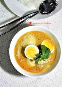 Boiled Egg and Potato Yellow Curry