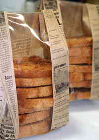 Maple Syrup Flavored Sugar Rusk for Gifting