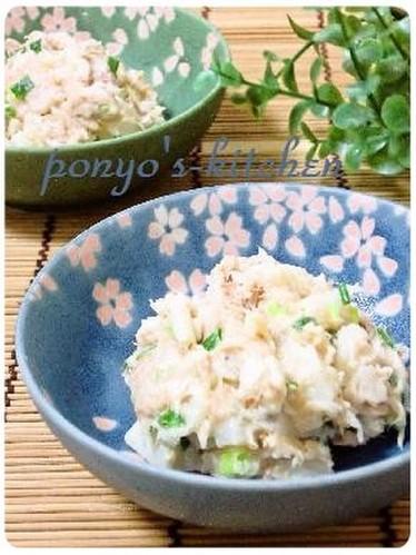 Fluffy & Creamy Yamaimo Salad