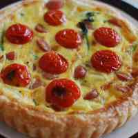 Quiche with Frozen Puff Pastry