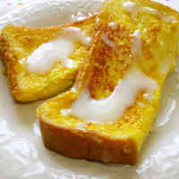 Milky Calpico and Condensed Milk French Toast