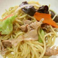 Ousho-style Soy Sauce Yakisoba Noodles