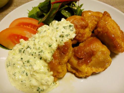 Simple Non-fried Chicken Nanban