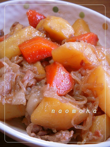 Using Our Family's Golden Ratio Nikujaga: Our Staple Stew