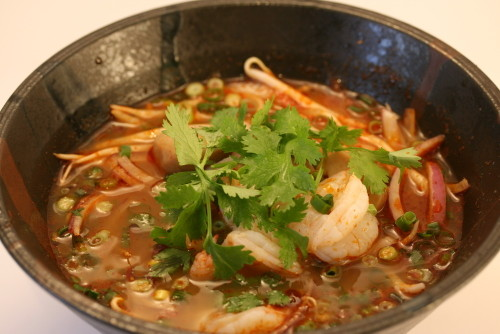 Simple Tom Yum Pho