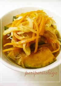 Super Easy Kabocha with Nanban Sauce