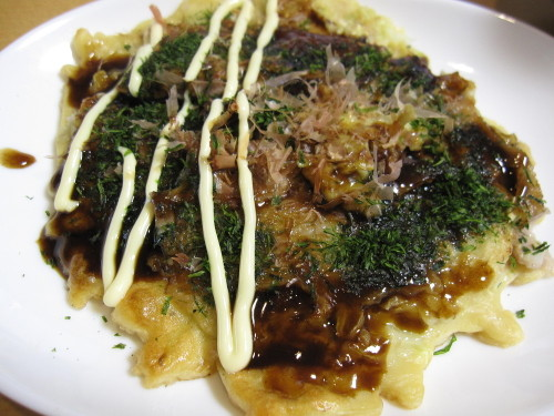 My Daughter's Favorite Basic Okonomiyaki