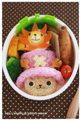 Character Bento, Chopper from One Piece