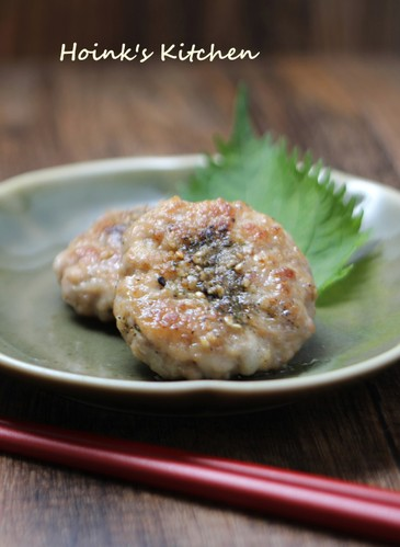 For Your Lunchbox Sesame Shichimi Pork Patties