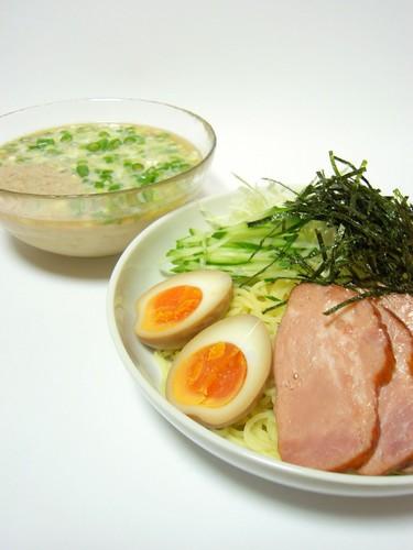 Cold Tonkotsu Ramen with Dipping Sauce
