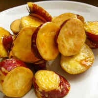 Caramelized Sweet Potatoes for Bento or Snacks