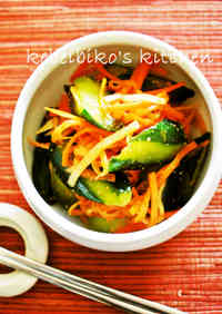 Instant Cucumber Kimchi using Versatile Korean Flavoring Mix