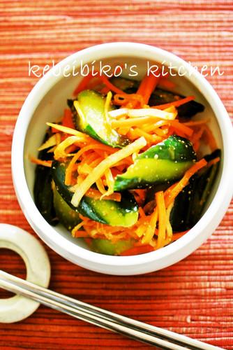 Instant Cucumber Kimchi using Versatile Korean Flavoring Mix