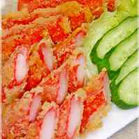 Deep-Fried Crab Sticks - An Easy Side Dish for Bentos