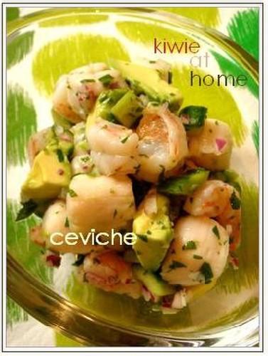 Super Easy Shrimp and Scallop Ceviche