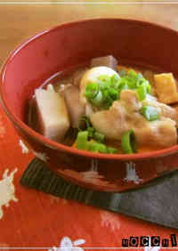 My Family's Chunky and Filling Pork Miso Soup!!