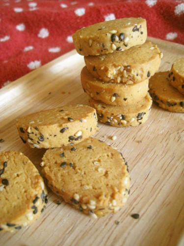 Crisp Kinako Cookies
