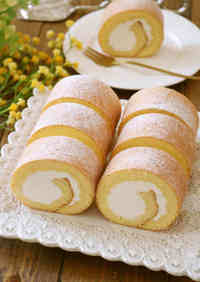 Fluffy Swiss Roll, Whole Egg Version