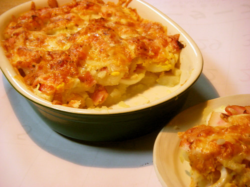 Potato & Egg Casserole