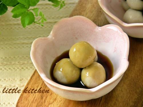 Buckwheat Flour Dumplings