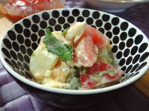 Tomato and Egg Salad