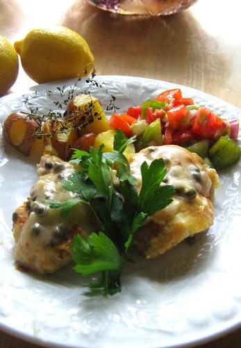 Lemon Caper Chicken