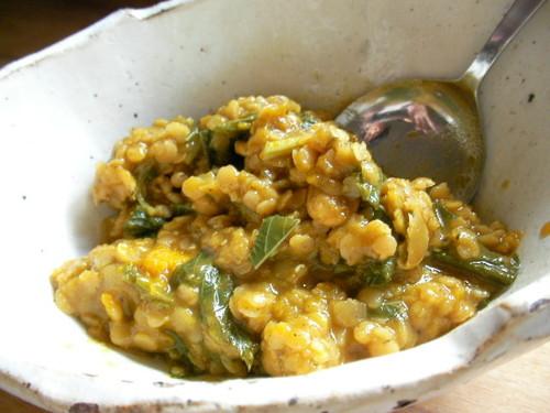 Vegan Kabocha Squash & Lentil Curry