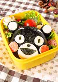 Character Bento ☆ Kumamon Rice Ball
