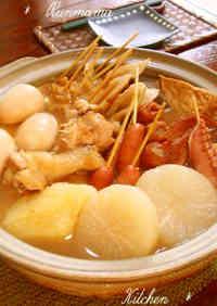 My Family's Kansai-style Oden Hot Pot