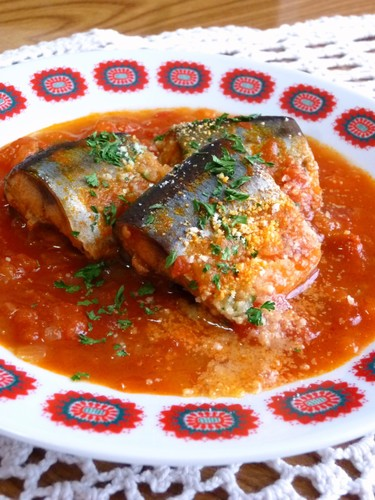 Delicious to the Bones! Pacific Saury in Tomato Sauce