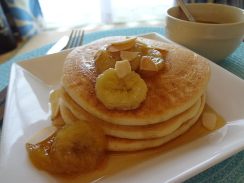 Vegan Pancakes No Eggs, Milk or Oil