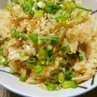 Easy Mushroom Rice that Anyone Can Make