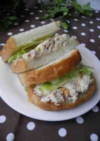 Nutty Tuna Sandwich