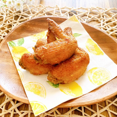 Crispy Curry-Flavored Chicken Wings