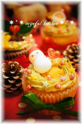 Easy Christmas Cupcake Decorations