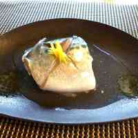 Mackerel with Salty Ankake Sauce