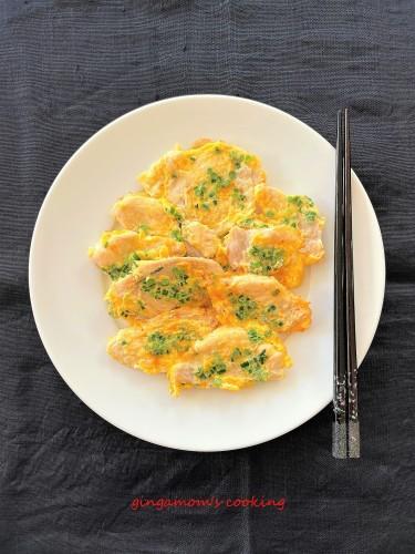 Chicken Breast Piccata Jeon