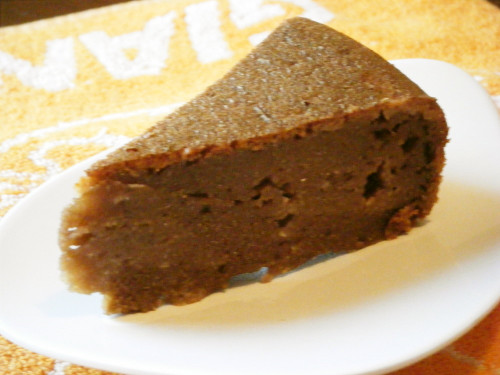 Okara Cocoa Cake