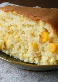 Okara Sweet Corn Cake