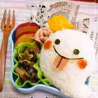 Easy Ghost Onigiri Rice Ball: Halloween Themed Charaben