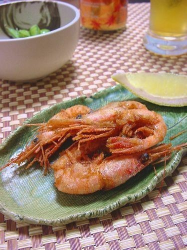 Fried Sweet Prawns