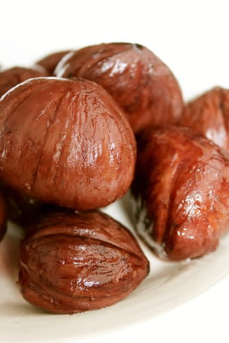 It's Fall! Chestnuts Simmered in Red Wine