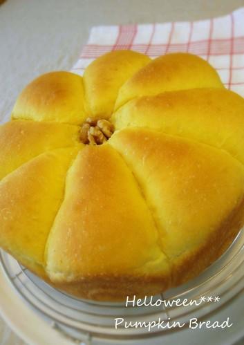 Halloween Kabocha Squash Bread