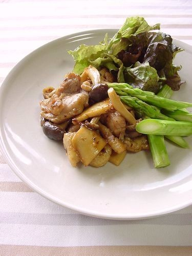 Sautéed Chicken Balsamico with Lots of Mushrooms
