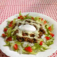 Fashionable Lunch Taco Rice