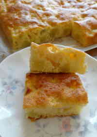 Big Mashed Potato and Apple Cake