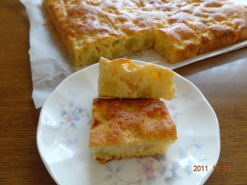 Big Mashed Potato and Apple Cake
